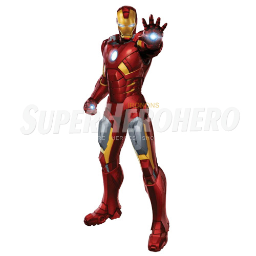 Designs Iron Man Iron on Transfers (Wall & Car Stickers) No.4556